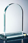 Glass awards and trophies
