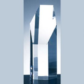 Hexagon Tower Crystal Award