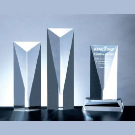 Super Goldwell Tower Crystal Award