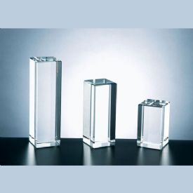 Rectangular Column Crystal Award