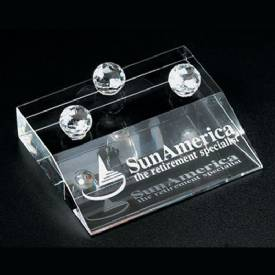 Crystal Business Card Holder 2