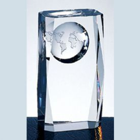 Crystal World Globe Column Award
