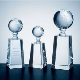 Crystal World Globe Award