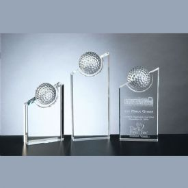 Pinnacle Crystal Golf Award