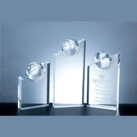 Crystal World Globe Pinnacle Award