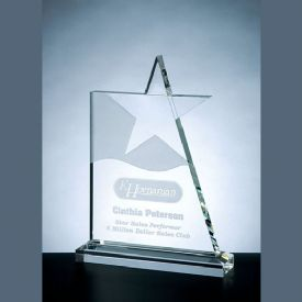 Waving Crystal Star Award