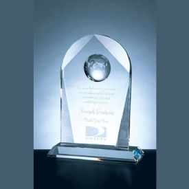 Arch Crystal World Globe Award