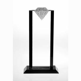 Flair Metal Crystal Diamond Award