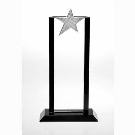 Flair Metal Crystal Star Award