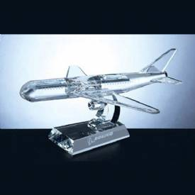 Airplane Crystal Award