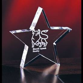 Baby Crystal Star Award