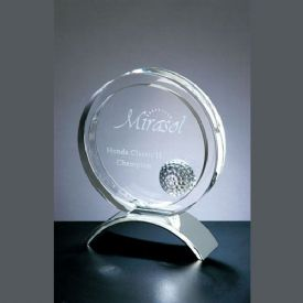 Golfers Achievement Crystal Award