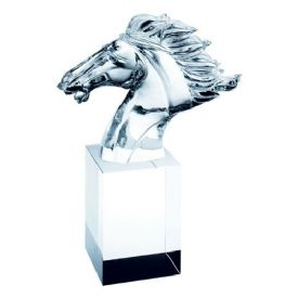 Faming Horse Crystal Award